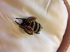 BEADED INSECT BY CATERINA VECCHI