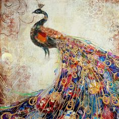 Yandex.Images: search for similar images Peacock Pictures, Cross Paintings, Decoration, Sewing Crafts, Needlework, Cross Stitch, Arts And Crafts, Embroidery, Stickers