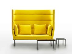 Divano a 2 posti con schienale alto Collezione Element by mminterier | design Boris Klimek