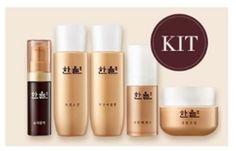 Hanyul Optimizing Serum Geuk Jin Toner Essence Emulsion Cream Anti-aging for sale online Face Lotion, Anti Aging Moisturizer, Pomegranate, Red Wine, Jin, Serum, Facial, Nail Polish, Lipstick