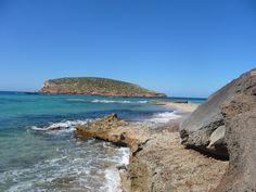 Beach near Sant Josep de sa Talaia, Ibiza, Spain