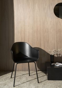 Harbour Chair is a minimalist chair created by Copenhagen-based designers Norm Architects. The Harbour Chair is a clean and elegant chair, suitable for a wide range of settings and environments. Designed specifically for the combined office, showroom, café and co-working space, Menu Space, the Harbour chair successfully suits a wide range of purposes – at home, at the office, in restaurants and beyond. With an armrest bending backward, and the backrest being slightly higher than on most…
