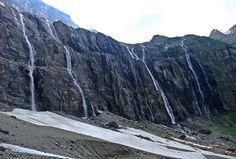Las cascadas den Gavarnie