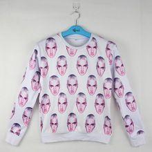 Super Ster Volledige Print Eminem Hoofd 3D Hoodies Hiphop Crewneck Sweatshirt Mannen/vrouwen Casual Grappig Tops Street Wear 5XL(Hong Kong)