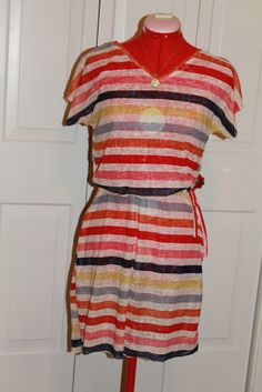 Seamingly Smitten: SEWING TUTORIAL: Swimsuit Cover-up