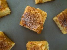 Cinnamon Sugar Squares: A mix between a sugar cookie and dessert bar (almost brownie-like in texture)