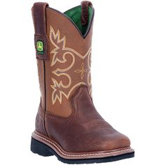 8f75b329ce1cc Child Pull On Mesquite Brown Boot. Kids BootsWestern BootsCowboy BootsJohn  Deere ...