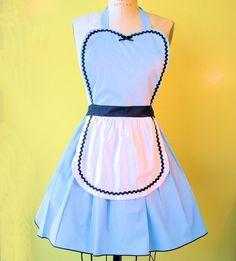 wish-listing this! Alice in Wonderland apron