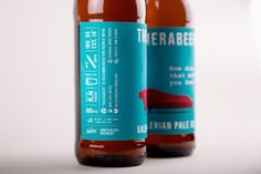 Therabeer. Valerian Pale Ale. Beer package concept. on Behance