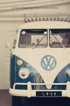 I've always wanted a hippie bus!