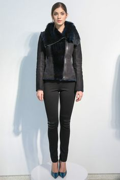 And check out the shoes!  Elie Tahari | Fall 2013 Ready-to-Wear Collection | Style.com