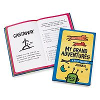 My Grand Adventures - A DIY Journal travel gift for kids Cool Gifts For Kids, Fun Crafts For Kids, Gifts For Teens, Kids Gifts, Best Gift For Husband, Rainy Day Fun, Flying With Kids, Teenage Girl Gifts, Kits For Kids