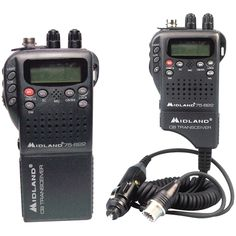 Midland Handheld 40-channel Cb Radio With Weather And All-hazard Monitor & Mobile Adapter