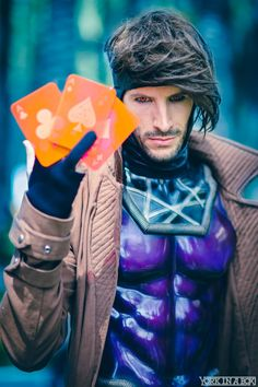 Gambit #Cosplay by Michael Huffman. #YorkInABox #WonderCon 2015