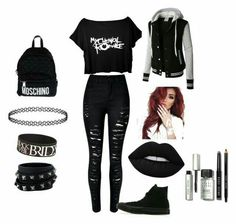 Trendy Fashion Outfits Going Out Clothes 63 Ideas Trendy Fashion Outfits Going Out Clothes 63 IdeasYou can find Emo fashion and mo. Fashion Mode, Teen Fashion Outfits, Emo Fashion, Trendy Fashion, Girl Outfits, Fashion Looks, Scene Outfits, Lolita Fashion, Rock Fashion