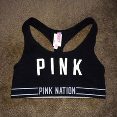 LE NWT VS PINK Black Pink Nation Sports Bra SZ S LIMITED EDITION! Rare Pink Nation Exclusive NWT VS PINK Black Pink Nation Sports Bra SZ Small! No trades & No PayPal! ONLY make offers through offer button!!! PINK Victoria's Secret Intimates & Sleepwear Bras