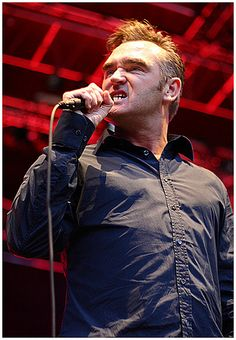 Now this dude looks like Morrissey, oh, it's because it is him. What about dudes that want to look like him?