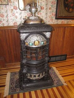 An antique heater like this is so beautiful, it makes a great statement piece.