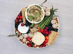 Tahini & Cumin Dip With Honeyed Eggplant - Viva Dairy Free Cheese, Vegan Cheese, Vegetarian Pate, Eggplant Dip Recipes, Hot Snacks, Spicy Nuts, Rhubarb Compote, Cheese Alternatives, Kitchens