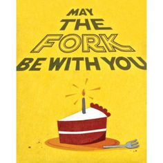 """Our """"Fork Be With You"""" card is lovingly handcrafted in the Philippines by women survivors of sex trafficking. The card incorporates a variety of handmade, recycled papers, making it environmentally su"""