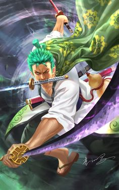 One Piece Crew, Zoro One Piece, One Piece Fanart, One Piece Manga, Roronoa Zoro, One Piece Wallpaper Iphone, One Piece Cosplay, Graphic Novel Art, Naruto Vs Sasuke