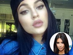 Kylie Jenner's Lip Liner Finally Revealed! #makeup #celebritybeauty #stylenews