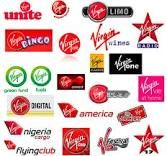 virgin logos - Virgin Group - Richard Branson - Corporate Storytelling - Powered by DataID