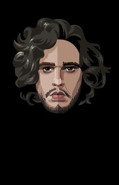 Robert Ball - Game of Thrones Portraits - Jon