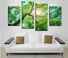 At Octo Treasures we specialize in high quality large multi panel wall canvas, purchase this amazing Tree Scenery wall canvas today we will ship the canvas for free. This is the perfect center piece for your home. It is easy to assemble and hang the panels together which makes this a great gift for you or your love ones. The multi panel canvas is unique and creative, you and your guests will be amazed every time you enter the room. We offer professional packaging for every painting you…