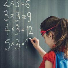 Trucos de las tablas de multiplicar para los niños.
