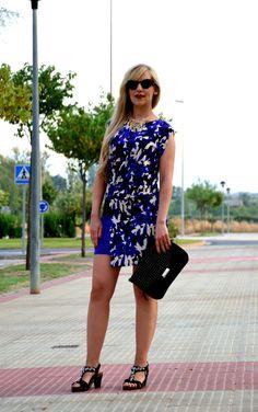 Mango printed dress 01 Mango, One Shoulder, Shoulder Dress, Street Style, Printed, Outfits, Dresses, Fashion, Patterned Dress