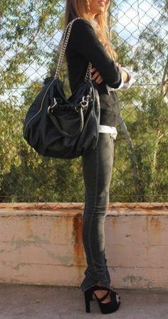 skinnies.Bag, pants, shoes, all¡¡