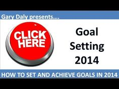 Learn how to set and achieve goals in 2014: http://achievegoalsinlife.com/persona...  Here is how to easily set and achieve goals in 2014 with 7 simple strategis and techniques to get you off to a great start in 2014 with your personal goal setting. | http://www.youtube.com/watch?v=G8SGbmIY3xc&feature=youtu.be