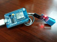 Seeed Recipe - Primary IoT Make with NodeMcu ->ESP8266<-