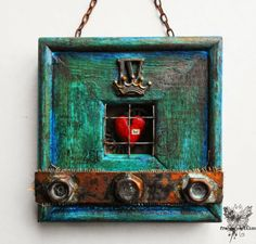 Just be... for Mixed Media Place ~ france papillon