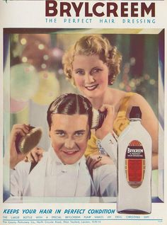 """""""It's lacquer...for your hair!"""" This just proves what women already know - men stick their heads up their asses regularly. Adding a little Brylcreem just makes the process less painful.""""<<-- This."""