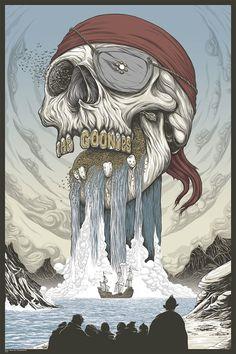 Goonies Poster by Randy Ortiz [Mondo]