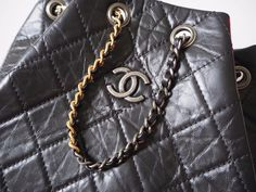 New Chanel  gabrielle backpack with black