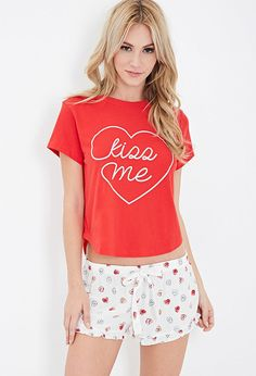 We heart this Forever 21 PJ Set