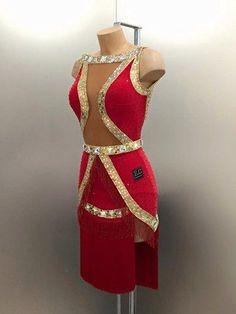 Ballroom Fashion Latin Ballroom Dresses, Latin Dresses, Vestidos Chiffon, Ballroom Costumes, Dance Costume, Dance Uniforms, Baile Latino, Salsa Dress, Dance Outfits