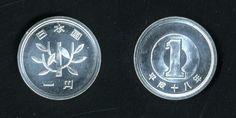 1円 - Google 検索 Guide To Japanese, Japanese Yen, Japanese Kanji, Japanese Beauty, Rare Coin Values, Rice Plant, Two Dollars, Coin Auctions, Rare Coins