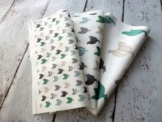 Wooden Chicken fabrics for craft projects. YES!