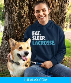 Our girls lacrosse sweatshirts are super comfortable and durable, and a warm lacrosse sweatshirt players (and fans) will love to wear all autumn and winter. Dog Mom, Lounge Wear, Hooded Sweatshirts, Hoods, Graphic Sweatshirt, Unisex, Girls Lacrosse, Cozy, Top Girls