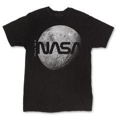 Men's NASA Darkside of the Moon T-Shirt - Mouse Secret - Space Everything Cool T Shirts, Tee Shirts, Nasa Hoodie, Nasa Clothes, Nasa Astronauts, Nasa Planets, Apparel Design, Printed Shirts, Shirt Style