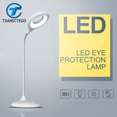 usb charging led desk lamp dimmable table lamp touch sensor led table lamp desk light luminaria de mesa #Affiliate