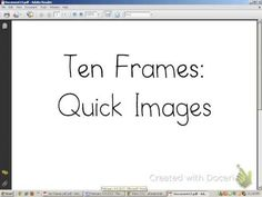 Ten Frame Flash Game (1-10) - YouTube