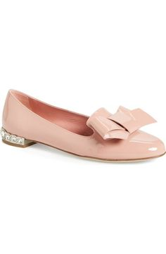 MIU MIU Bow Loafer (Women). #miumiu #shoes #flats