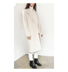 cashmere wool long coat  www.g-r-a-b.com