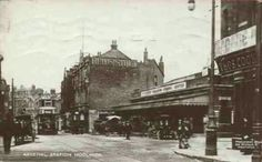 Woolwich Arsenal station c. 1900