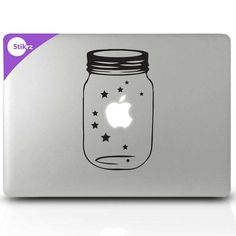 Laptop Stickers, Constellations Macbook Stickers, wall decals for macbook pro - Lucky Stars- Decal 189 Mac Stickers, Macbook Decal Stickers, Mac Decals, Apple Stickers, Macbook Accessories, Tech Accessories, Book Expo, Funny Decals, Mac Laptop